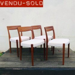 CHAISES SCANDINAVES VINTAGE...